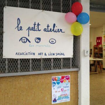 Le Petit Atelier, association culturelle Nîmes année 2016-2017