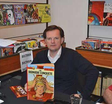 Marc Jailloux, nouveau dessinateur d'Alix