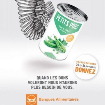 Bientôt la collecte annuelle de la Banque Alimentaire (25-26 novembre)