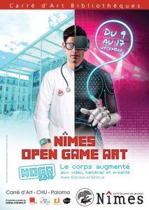 Festival du jeu vidéo et de la création numérique au Carré d'Art (4ème édition du NOGA)