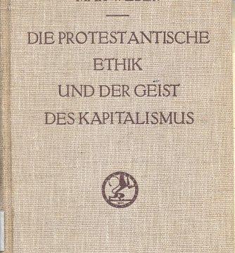 Protestantisme et capitalisme