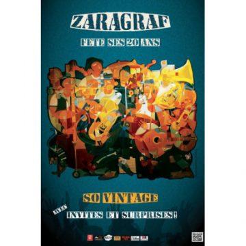 Zaragraf a 20 ans : soirée «So vintage» à Paloma
