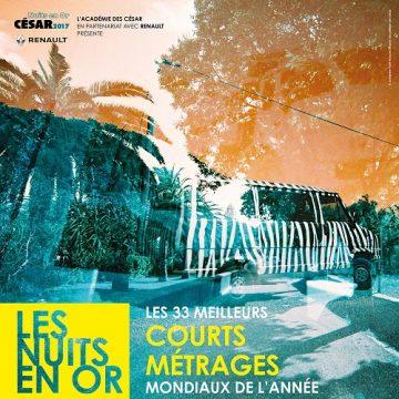 Clap Cinéma 61ème : Nuit en Or des courts métrages