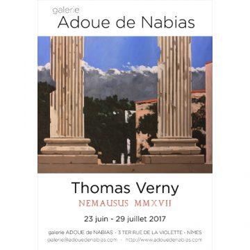 NEMAUSUS MMXVII : une exposition de Thomas Verny