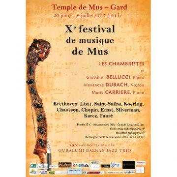 Le festival de musique de Mus fête son 10e anniversaire