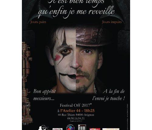 Avignon OFF  Cyrano de Bergerac – Ruy Blas à l'Atelier 44