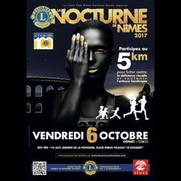 Course nocturne de Nîmes 2017