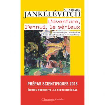 A l'aventure ! avec Jankélévitch