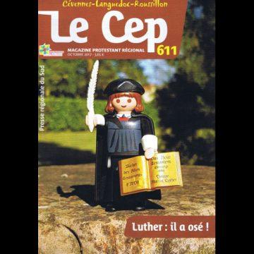 Avec le mensuel Le Cep du mois d'Octobre 2017