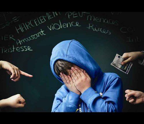 Harcèlement scolaire.