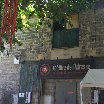 OFF Avignon: 3 artistes au théâtre de l'Adresse