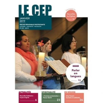 Regard sur Le Magazine Le Cep janvier 2019