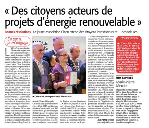 Citoyenneté et transition énergétique