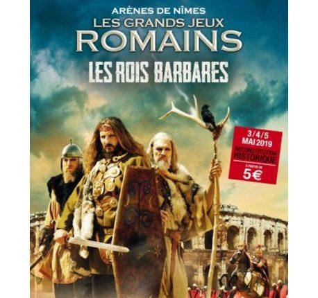 Grands Jeux Romains 2019 : les rois barbares