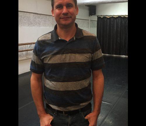 Luc David régisseur au Théâtre de Nîmes