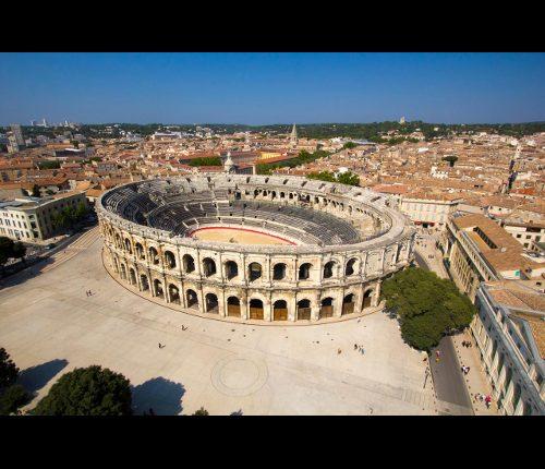Nîmes au fil de l'histoire