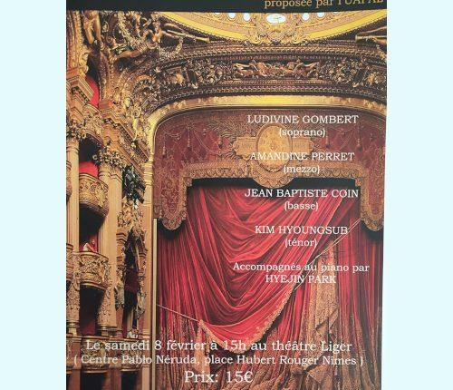 Un après midi d'opéra à Liger