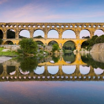 Le Pont du Gard déconfiné !