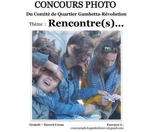Rencontre(s) Concours photos Quartier Gambetta Révolution