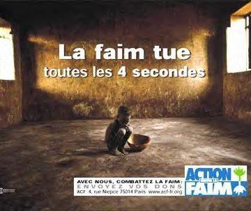 La Faim nécessite une action !