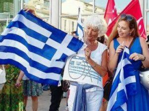 En solidarité avec les grecs