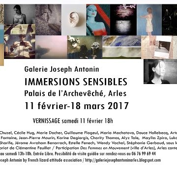 l'exposition « Immersions sensibles » à Arles