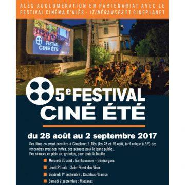 5ème festival Ciné été  à Alès