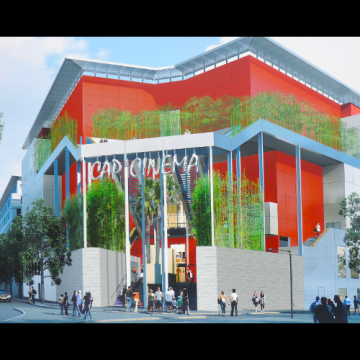 Ouverture de Cap Cinéma au Triangle de la Gare à Nîmes