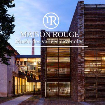 Maison rouge à Saint-Jean-du-Gard