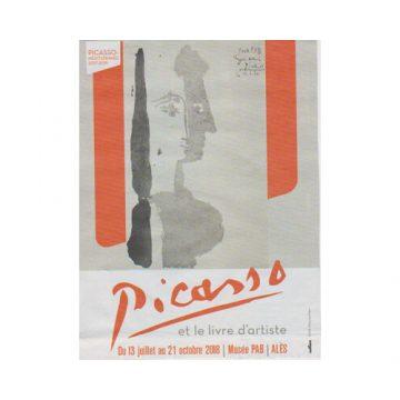 Exposition au PAB: Picasso et le livre d'artiste