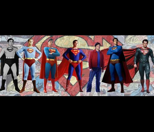 Les super-héros  des années 60 jusqu'à 2018