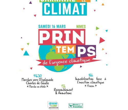 Carnaval pour le Climat 16 mars