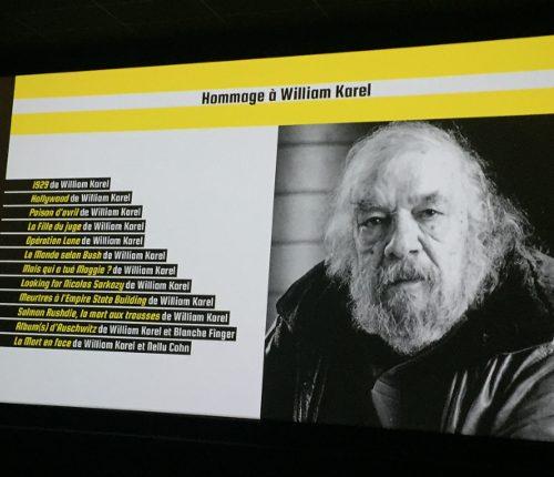 Clap 109ème:  le réalisateur William Karel
