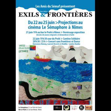 Rencontres Exils et Frontières au Sémaphore