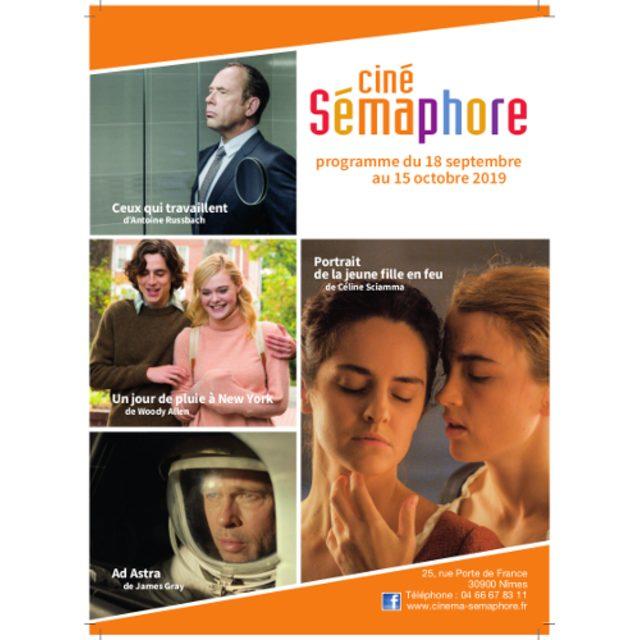 Clap Cinéma 115ème : fin septembre