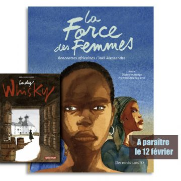 De L' Afrique à l'Écosse en BD : J.Alessandra