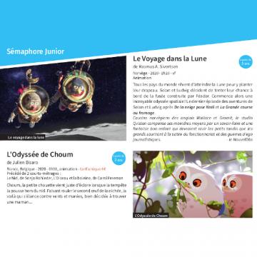 Clap Cinéma 125ème : Jeune public