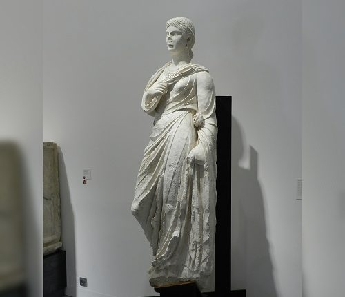Zoom : Antonia Minor au Musée de la Romanité
