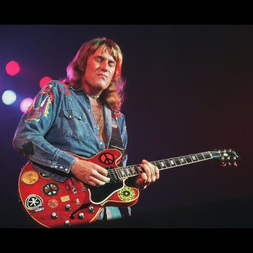 Alvin Lee, l'homme à la guitare rouge