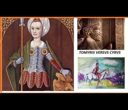 Dans les steppes d'Asie Tomiris VS Cyrus