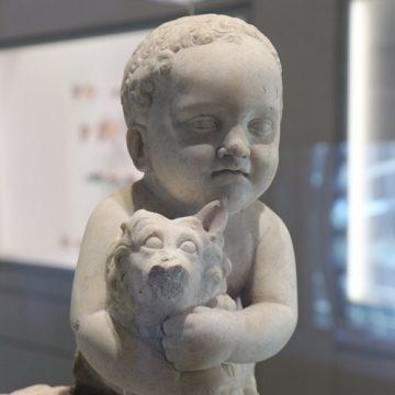 Combien, ce petit chien dans la vitirine du Musée ?