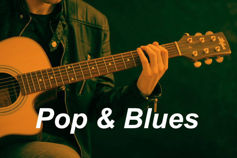 image pop and blues