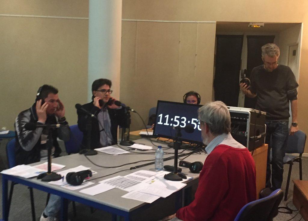 Plateau radio sur le thème des migrants