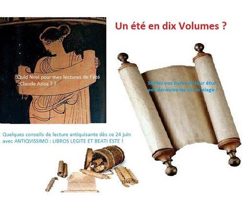 X volumina : 10 volumes pour un été