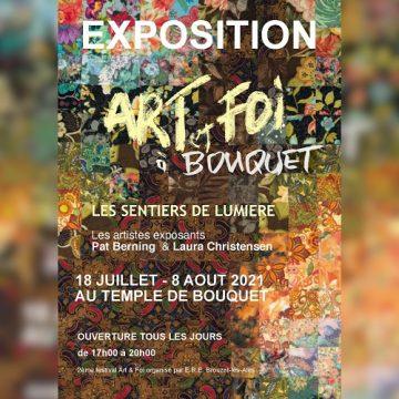 Festival Art et Foi à Bouquet du 17 juillet au 8 août