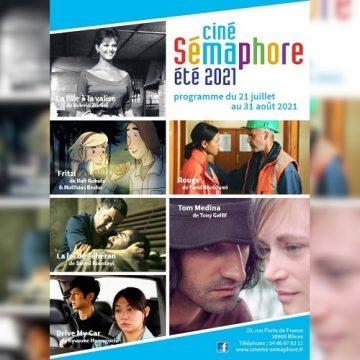 Programme d'été du Sémaphore 21 juillet au 31 août