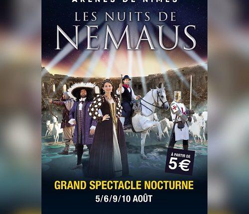 Les Nuits de Nemaus Août 2021