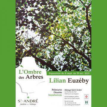 «L'ombre des arbres» : exposition Lilian Euzéby