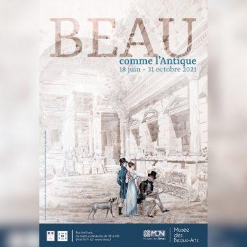 Exposition «Beau comme l'Antique» Musée des Beaux Arts