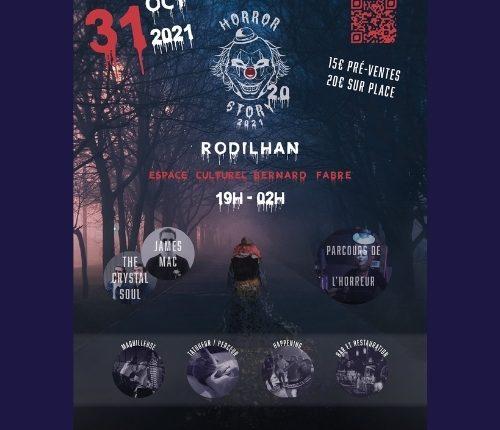La nuit de l'horreur le 31 octobre à Rodilhan